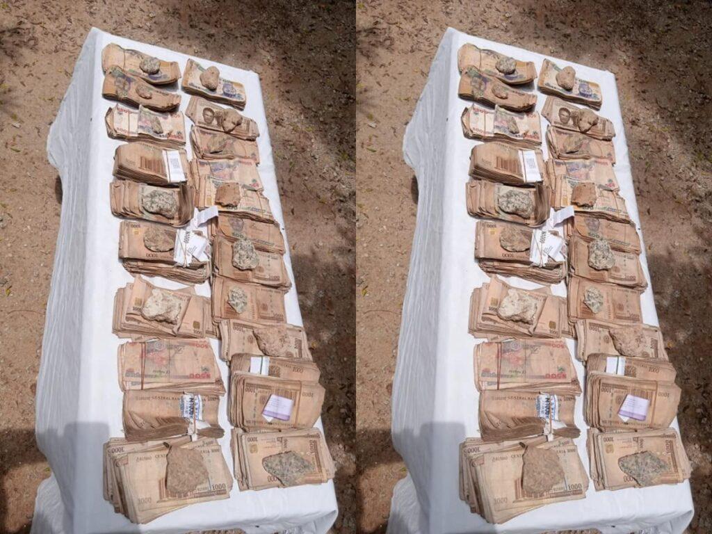 Female Gun Runner in Katsina Arrested money 1