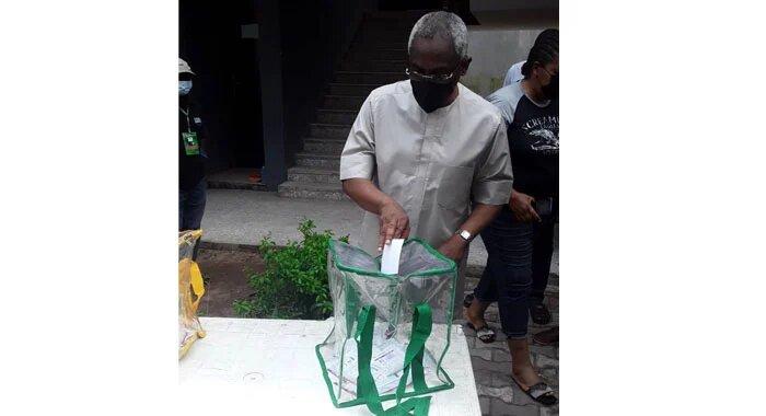 Gbajabiamila votes