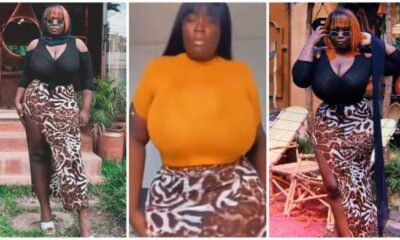 Maame Serwaa flaunts her newly improved backside in latest video