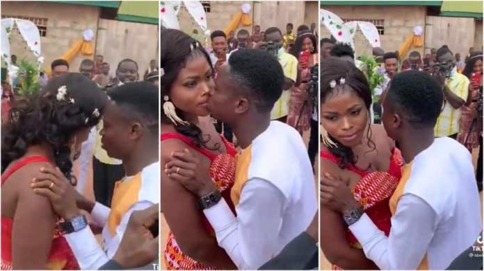 bride disgraces groom