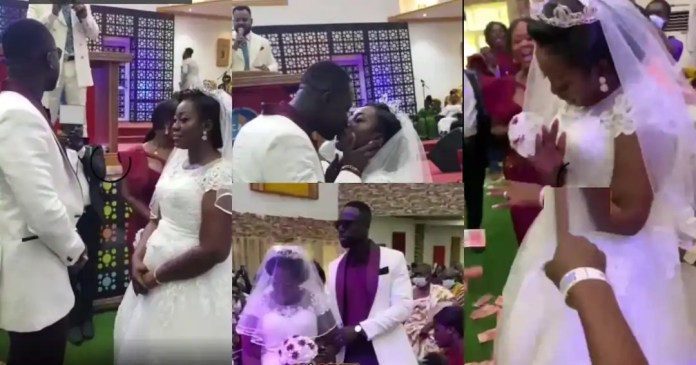 Moment drone delivered rings at wedding of Funny Faces ex wife Watch
