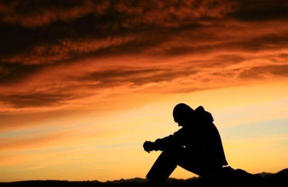 heartbroken man