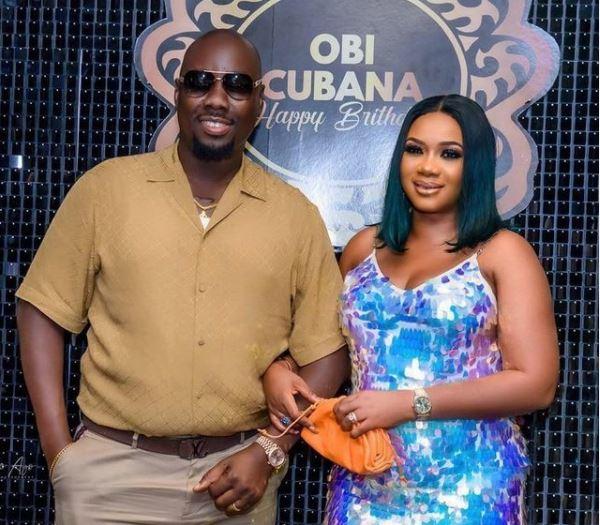 obi cubana with wife