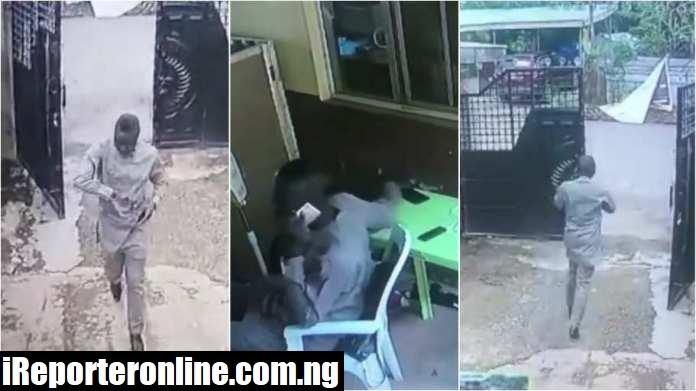 man caught stealing phone