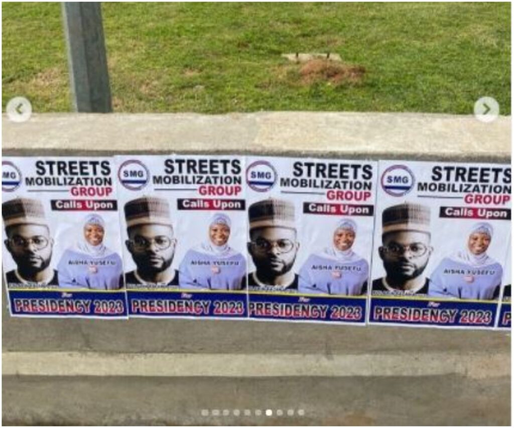 campaign posters of falz
